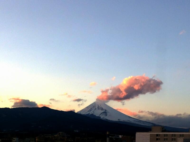 富士山噴火?